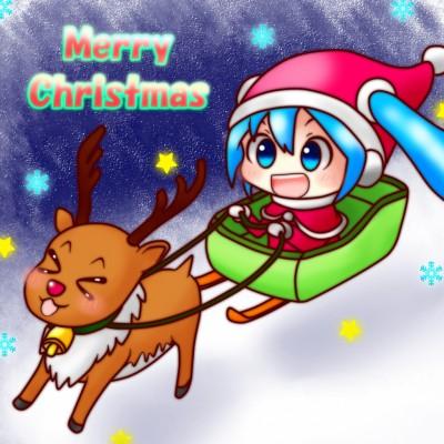 ミククリスマス