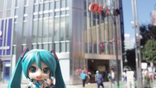 新宿 BLUE LEAF CAFÉ × ミク☆さんぽ